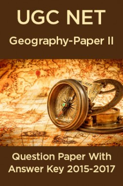 UGC NET Geography Paper II 2015, 2016, 2017 Question Paper With Answer Key