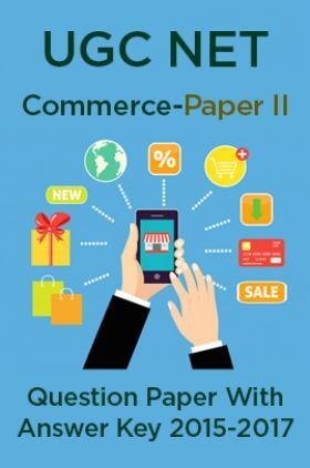 UGC NET Commerce Paper II 2015, 2016, 2017 Question Paper With Answer Key