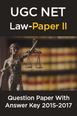 UGC NET Law Paper II 2015, 2016, 2017 Question Paper With Answer Key