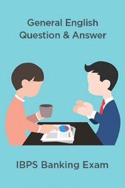 General English Question & Answer For IBPS Banking Exam