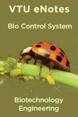VTU eNotes On Bio Control System For Biotechnology Engineering