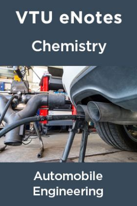 VTU eNotes On Chemistry For Automobile Engineering