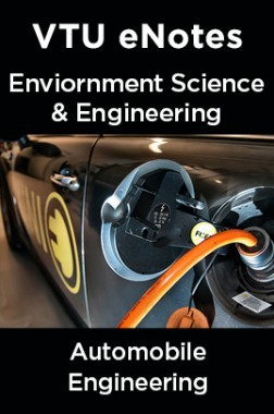 VTU eNotes On Environment Science & Engineering For Automobile Engineering