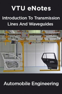 VTU eNotes On Introduction To Transmission Lines And Waveguides For Automobile Engineering