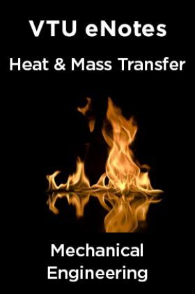 VTU eNotes On Heat & Mass Transfer For Mechanical Engineering
