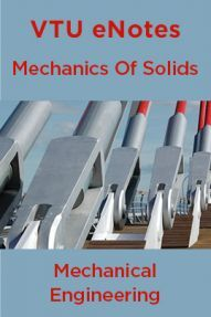 VTU eNotes On Mechanics Of Solids  For Mechanical Engineering