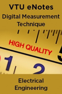 VTU eNotes On Digital Measurement Technique For Electrical Engineering