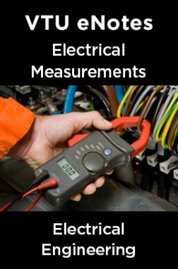 VTU eNotes On Electrical Measurements For Electrical Engineering