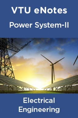 Download VTU eNotes On Power System-I For Electrical Engineering by Panel  Of Experts PDF Online