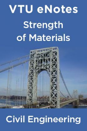 VTU eNotes On Strength Of Materials  For Civil Engineering