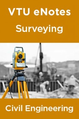 VTU eNotes On Surveying For Civil Engineering