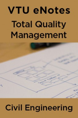 VTU eNotes On Total Quality Management For Civil Engineering