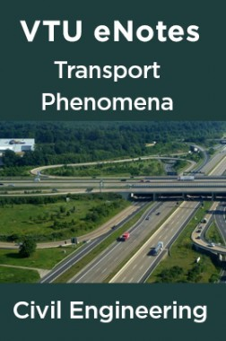VTU eNotes On Transport Phenomena For Civil Engineering