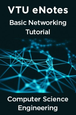 VTU eNotes On Basic Networking Tutorial For Computer Science Engineering