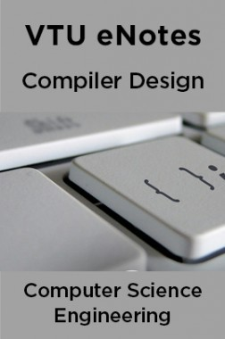 VTU eNotes On Compiler Design For Computer Science Engineering