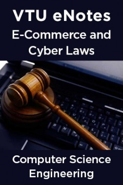 VTU eNotes On E-Commerce & Cyber Laws For Computer Science Engineering