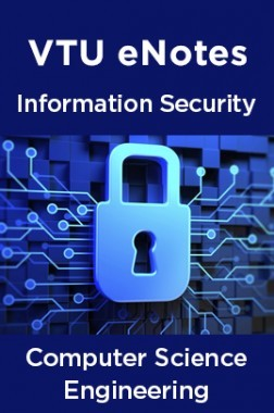 VTU eNotes On Information Security For Computer Science Engineering