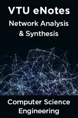 VTU eNotes On Network Analysis & Synthesis For Computer Science Engineering