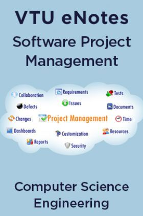 VTU eNotes On Software Project Management For Computer Science Engineering