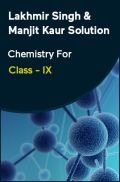 Lakhmir Singh & Manjit Kaur Solution Chemistry For Class - IX
