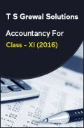 T S Grewal Solutions Accountancy For Class - XI (2016)