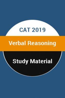 Study Material For CAT 2019 Verbal Reasoning