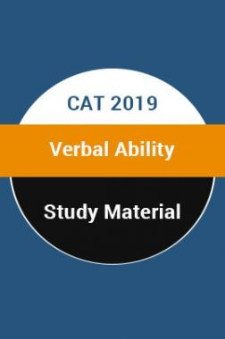 Study Material For CAT 2019 Verbal Ability