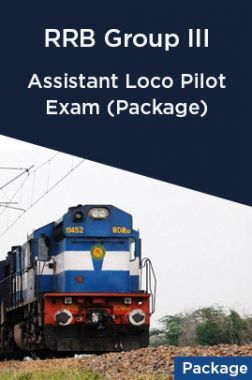 Assistant Loco Pilot Exam (Package) RRB Group III