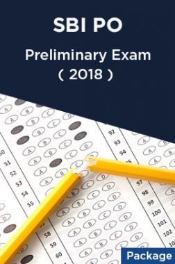 SBI PO 2018 Preliminary Exam (Package)