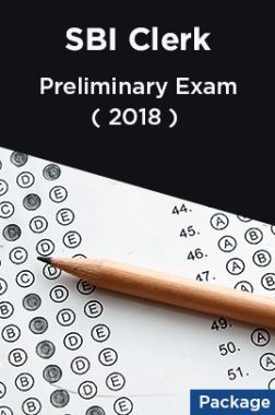 SBI Clerk 2018 Preliminary Exam (Package)