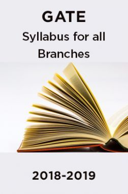GATE 2018-2019 Syllabus For All Branches