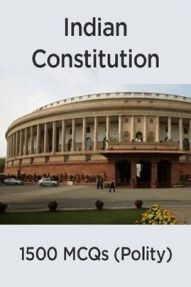 1500 MCQs On Indian Constitution (Polity)