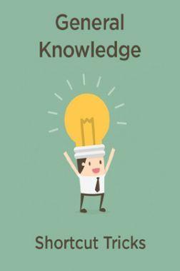 General Knowledge Shortcut Tricks (In Hindi)