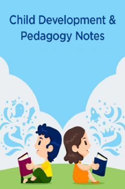 Child Development And Pedagogy Notes