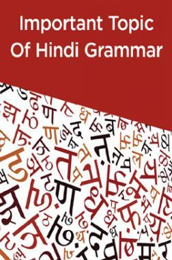 Important Topic Of Hindi Grammar
