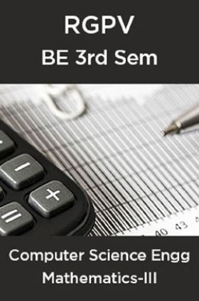 Mathematics-III For BE 3rd Sem Computer Science Engineering
