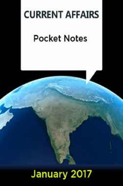 Current Affairs Pocket Notes - January 2017