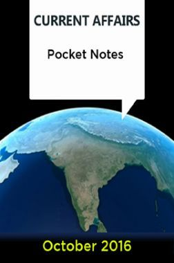 Current Affairs Pocket Notes - October 2016