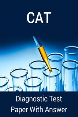 CAT Diagnostic Test Paper With Answer