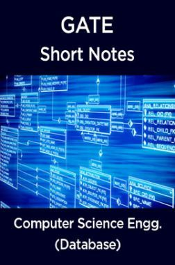 GATE Short Notes For Computer Science Engg. (Database)