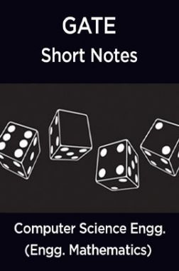 GATE Short Notes For Computer Science Engg. (Engineering Mathematics)