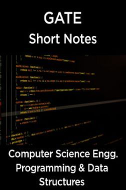 GATE Short Notes For Computer Science Engg. (Programming & Data Structures)