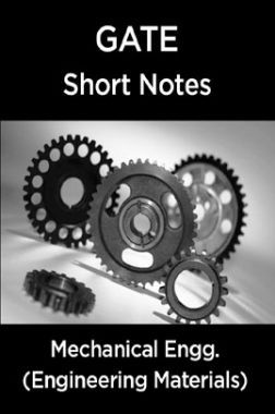 GATE Short Notes For Mechanical Engg. (Engineering Materials)