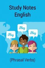 Download Study Notes English (Phrasal Verbs) by Panel Of Experts PDF Online
