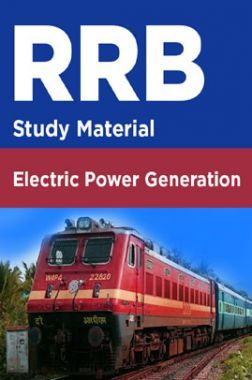 RRB Study Material For Electric Power Generation