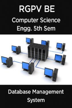 Database Management System For RGPV BE 5th Sem Computer Science Engineering