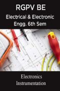 Electronics Instrumentation For RGPV BE 6th Sem Electrical & Electronic Engineering