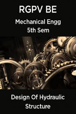 Design Of Machine Elements For RGPV BE 5th Sem Mechanical Engineering