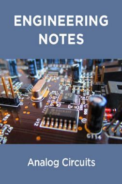 Analog Circuits Notes For Engineering