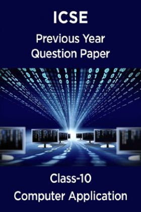 ICSE Previous Year Question Paper Computer Application For Class-10